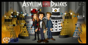 Asylum of the Daleks by CPD-91