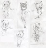 Drawing the Not-so-Main Characters 2 by laurenbaker0508
