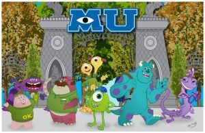 Monsters University by momarkey