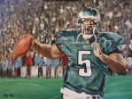 Donovan McNabb painting by tdastick