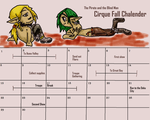 Cirque of Fear Ringmasters Calender by Holographic-Neku