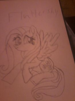 Fluttershy ^^ by GameCubeRedPony