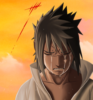 Sasuke - Tears by 3spn4life