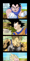 Vegeta You're Handsome by RedMental