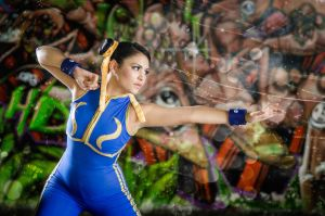 Chun Li Street Fighter  Alpha 1 by harleykmc