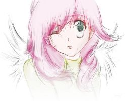 Colored Angel1 by YinxAngelxYang