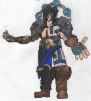 Thunder God Armor for AQW by CrazyTeddy