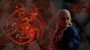 House Targaryen Fire And Blood by ShockHit