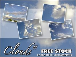 FREE STOCK, Clouds 11 by mmp-stock