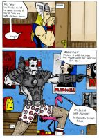 Legends Of Drunken Iron Man 5 by TheMonkeyYOUWant