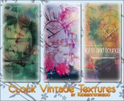 4th Texture : Clock vintage by Kidaanrimikado