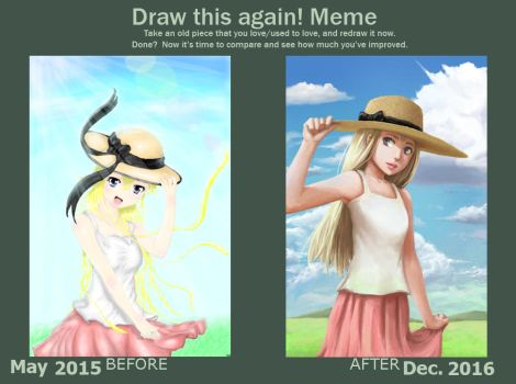 Draw This Again by FakeWaffle