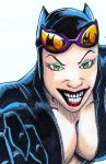 Catwoman_sketchcard by LangleyEffect