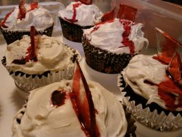 Broken Glass Cupcakes 2 by GoodGirl-BadGirl