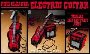 Pipecleaner Electric Guitar 1 by teblad