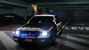ford crown vic police. NFS by daz1200
