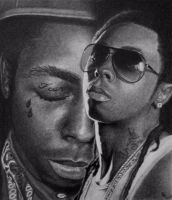 Lil Wayne - Tha Carter by FromPencil2Paper