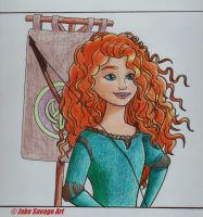 Merida by Fires-storm