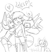 Xenon gets all the girls by pumpkab00s