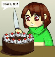 D26. Chara, yes! [30Days Challenge] by ElleAP