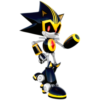 Shard the Metal Sonic Render by Nibroc-Rock