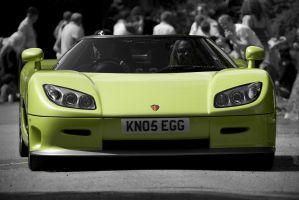 Koenigsegg CCR, front by FurLined