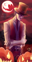 Happy Heloween with Lucas by whiteshooter