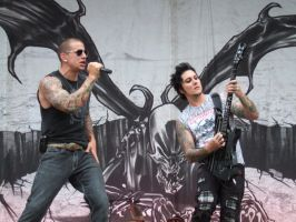 Avenged Sevenfold, Trondheim by blank-canvas-uk