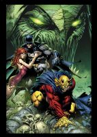 Dark Knight vol.1 No.5 CVR by sinccolor
