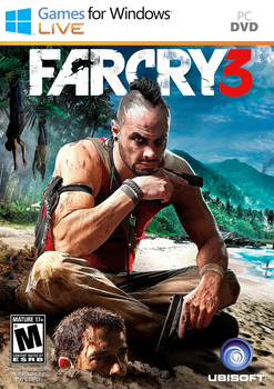 FARCRY 3 Cover GFWL by luizcountry