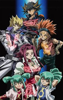 Yugioh 5ds- Team 5ds Signers by jcxtreem