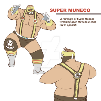 Super Muneco by beardrooler