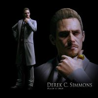 Resident Evil 6 - Derek C. Simmons Artwork by TheARKSGuardian