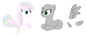 Collab 2 Hanging out with Sparkle Wish by SugarMoonPonyArtist