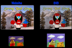 Homestar Screentest comparision by Percyfan94