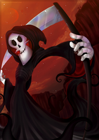 Nobody cheats the Grim Reaper! by Nighttame
