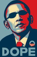 Dope Obama Poster by Homeplanet