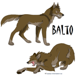 Balto again by Kitrei-Sirto