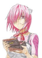 Lucy and the Lilium Box from Elfen Lied by KarmaSound91