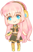 Megurine Luka~ by iekika-bp