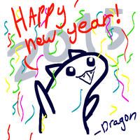 HAPPY NEW YEARS by DragonStar314