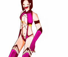 Mileena from MK by hophungtien