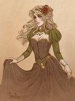 Dorothea by CrystalCurtisArt