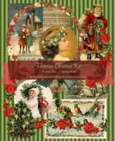 Victorian Christmas Kit by LostMemoryOfADream