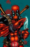 Deadpool [quick colors] by Gwendlg