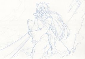 Battle Cry: Inuyasha by starxade