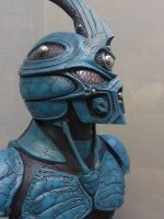 Guyver Statue Painted with leds 1 by Mutronics