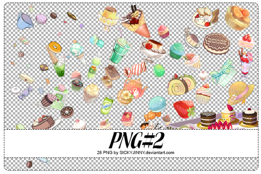 PNG#2. Food by SickyJinny