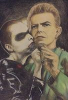 Annie Lennox and David Bowie: Under Pressure by aniko385