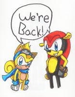 Mighty and Ray are back! by Piplup88908